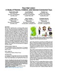 Toys That Listen: A Study of Parents, Children, and Internet-Connected Toys
